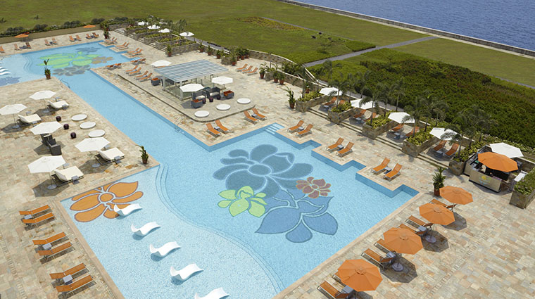 Property SkyToweratSolaireManila Hotel PublicSpaces SwimmingPool SolaireResort&Casino