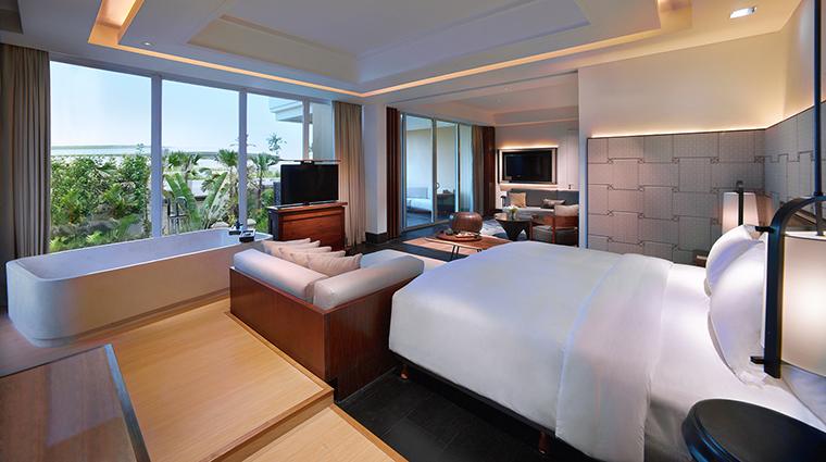 Property SofitelBaliNusaDuaBeachResort Hotel GuestroomSuite PrestigeSuiteBedroom SofitelLuxuryHotels
