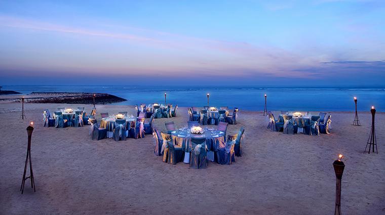 Property SofitelBaliNusaDuaBeachResort Hotel PublicSpace BeachEventSetup SofitelLuxuryHotels