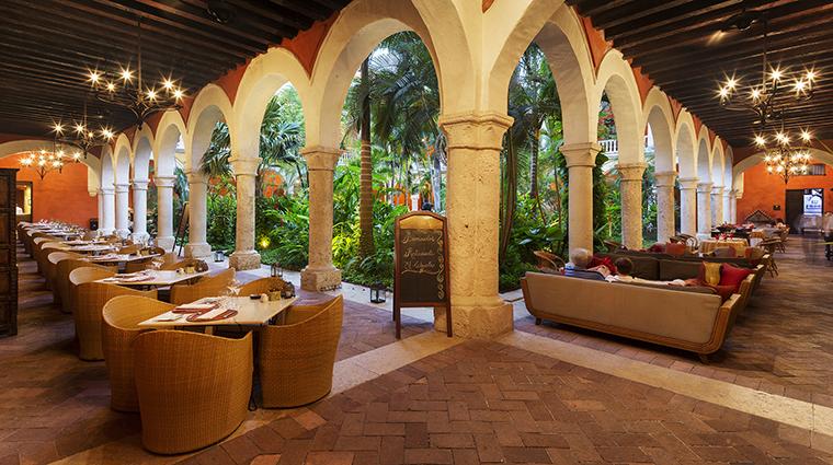 Property SofitelLegendSantaClaraCartagena Hotel Dining ElClaustroTerrace Sofitel