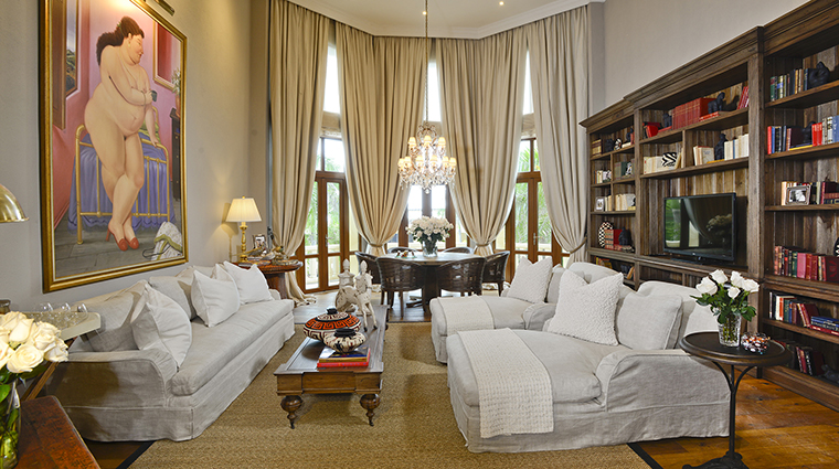 Property SofitelLegendSantaClaraCartagena Hotel GuestroomSuite FernandoBoteroPresidentialSuiteLivingRoom Sofitel
