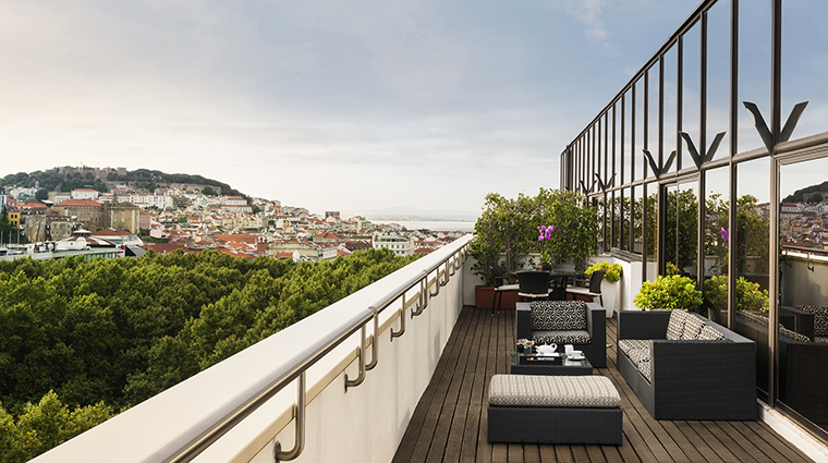 Property SofitelLisbonLiberdade Hotel GuestroomSuite OperaSuiteTerrace Sofitel