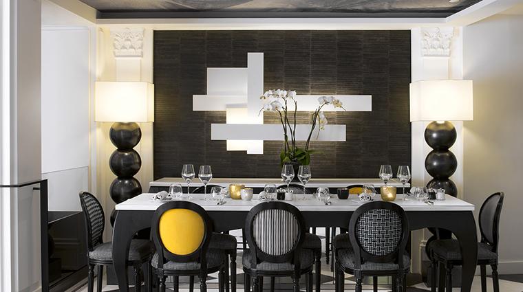 Property SofitelParisLeFaubourg Hotel Dining StayFaubourg3 Sofitel