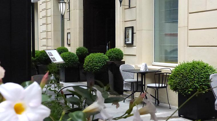 Property SofitelParisLeFaubourg Hotel Dining StayFaubourgTerrace Sofitel