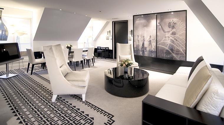 Property SofitelParisLeFaubourg Hotel GuestroomSuite CoutureApartmentLivingRoom Sofitel