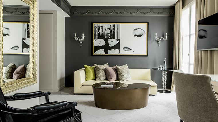 Property SofitelParisLeFaubourg Hotel GuestroomSuite OperaSuiteLounge Sofitel