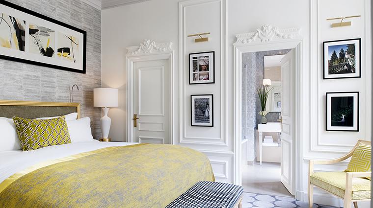 Property SofitelParisLeFaubourg Hotel GuestroomSuite PrestigeSuiteBedroom Sofitel