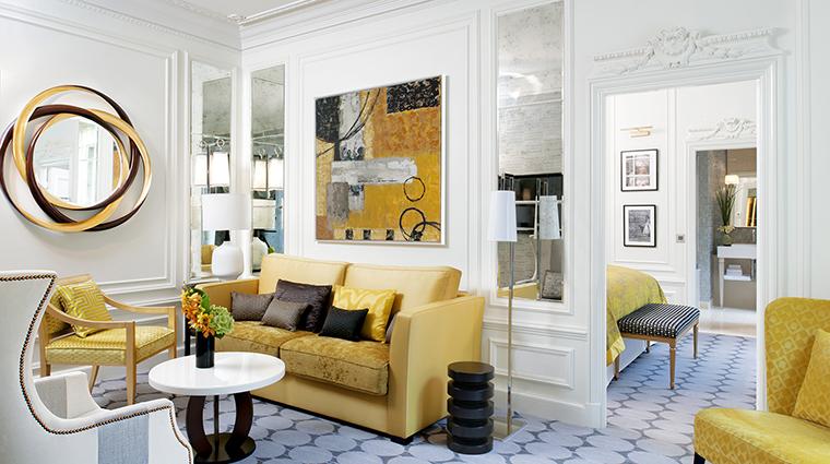 Property SofitelParisLeFaubourg Hotel GuestroomSuite PrestigeSuiteLounge Sofitel