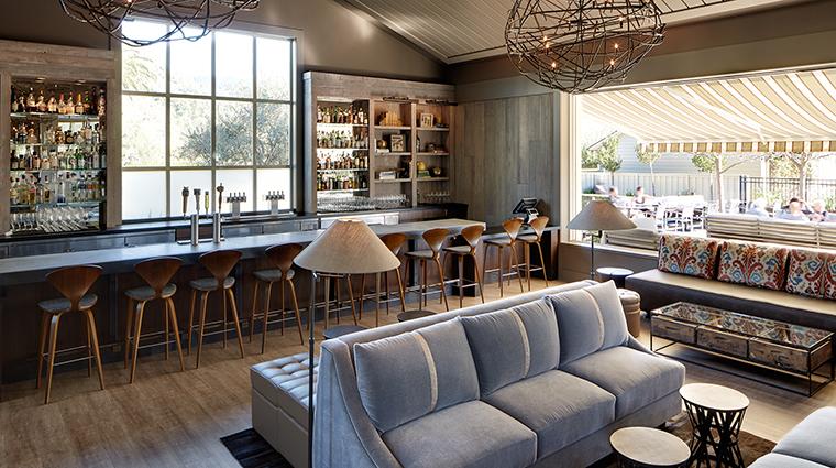 Property SolageCalistoga Hotel Dining SolbarLounge SolageCalistoga