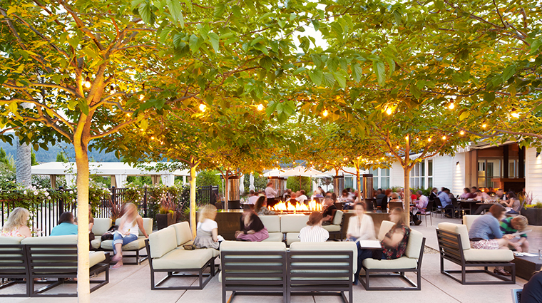 Property SolageCalistoga Hotel Dining SolbarPatio SolageCalistoga