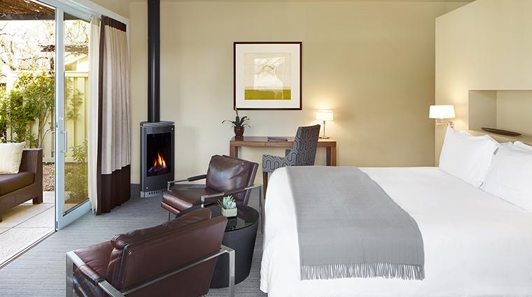 Property SolageCalistoga Hotel GuestroomSuite AdaraStudio SolageCalistoga