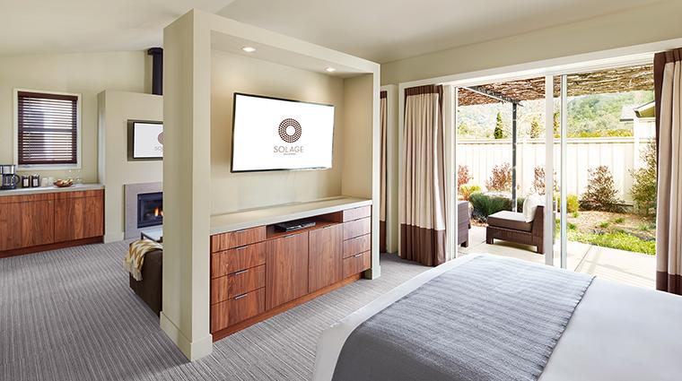 Property SolageCalistoga Hotel GuestroomSuite CapellaStudio SolageCalistoga