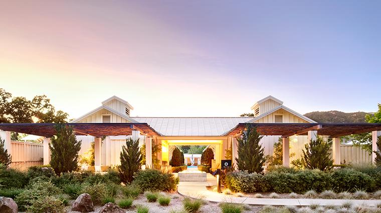 Property SolageCalistoga Hotel Spa SpaSolageBathouse SolageCalistoga