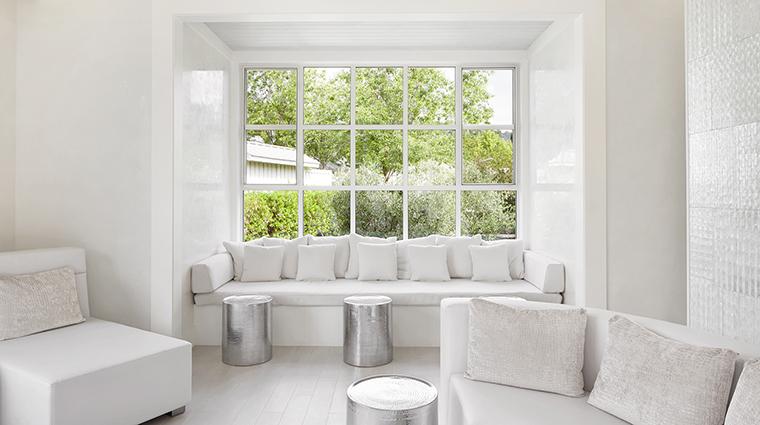 Property SpaSolage Spa RelaxationLounge SolageCalistoga