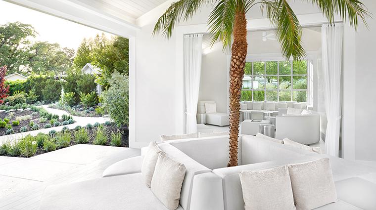 Property SpaSolage Spa RelaxationLounge2 SolageCalistoga