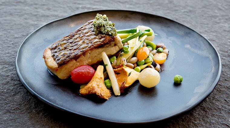 Property SpicedPear 8 Restaurant Food SeaBass CreditTheChanleratCliffWalk