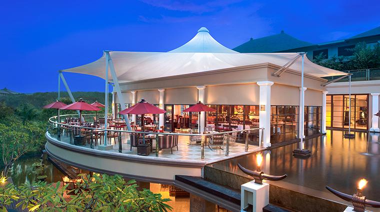 Property StRegisBali Hotel Dining BonekaRestaurant StarwoodHotels&ResortsWorldwideInc
