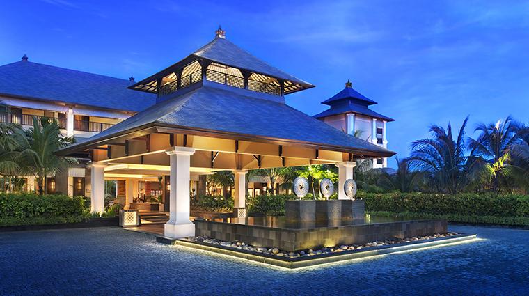 Property StRegisBali Hotel Exterior PorteCochere StarwoodHotels&ResortsWorldwideInc