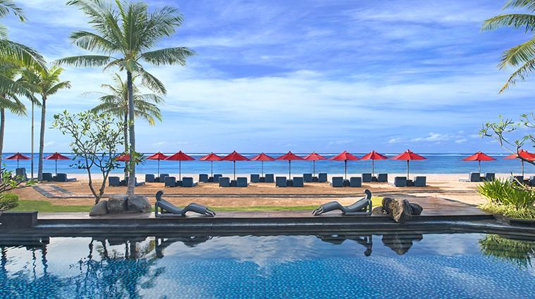 Property StRegisBali Hotel PublicSpaces BeachfrontViewfromKayuputiRestaurant StarwoodHotels&ResortsWorldwideInc