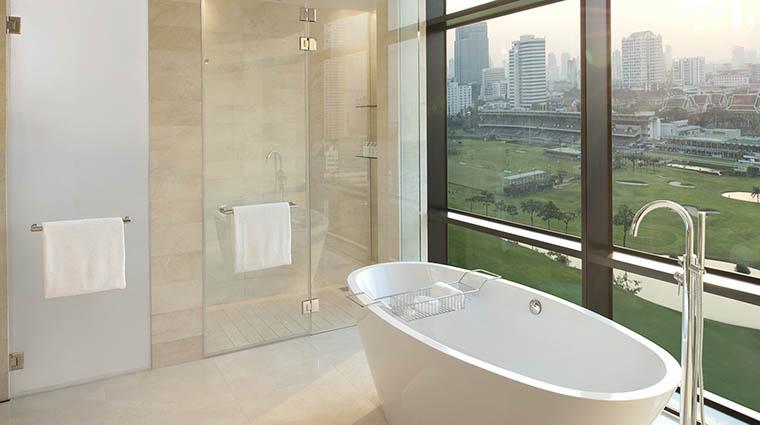 Property StRegisBangkok Hotel GuestroomSuite CarolineAstorSuiteBathroom StarwoodHotels&ResortsWorldwideInc
