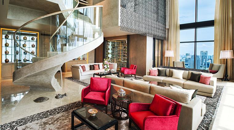 Property StRegisBangkok Hotel GuestroomSuite PenthouseLivingRoom StarwoodHotels&ResortsWorldwideInc