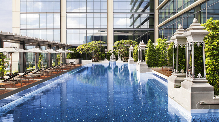 Property StRegisBangkok Hotel PublicSpaces SwimmingPool2 StarwoodHotels&ResortsWorldwideInc