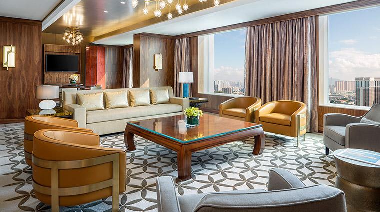 Property StRegisMacauCotaiCentral Hotel GuestroomSuite PresidentialSuiteLivingRoom MarriottInternationalInc
