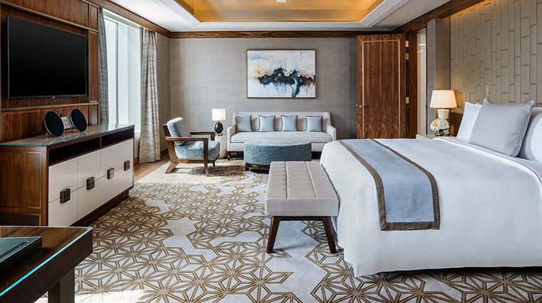 Property StRegisMacauCotaiCentral Hotel GuestroomSuite PresidentialSuiteMasterBedroom MarriottInternationalInc