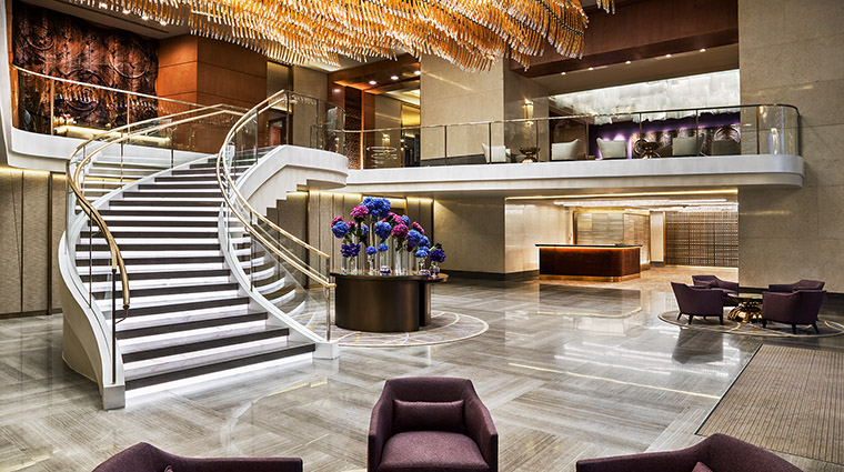 Property StRegisMacauCotaiCentral Hotel PublicSpaces Lobby MarriottInternationalInc