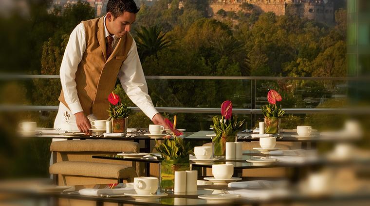 Property StRegisMexicoCity Hotel Dining OutdoorDining StarwoodHotels&ResortsWorldwideInc