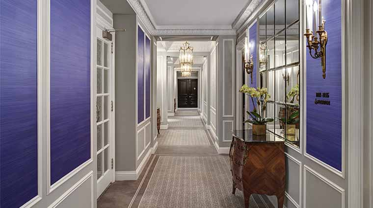 Property StRegisNY Hotel GuestroomsSuites HotelCorridor BruceBuckStRegis