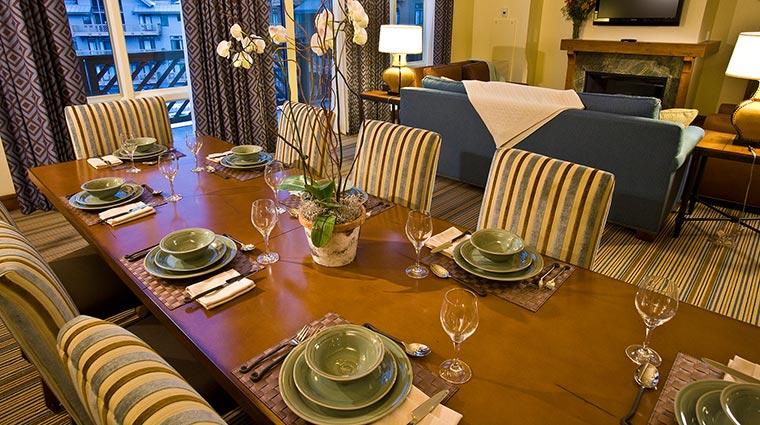 Property StoweMountainLodge Hotel GuestroomSuite ResidenceDiningRoom CreditStoweMountainLodge