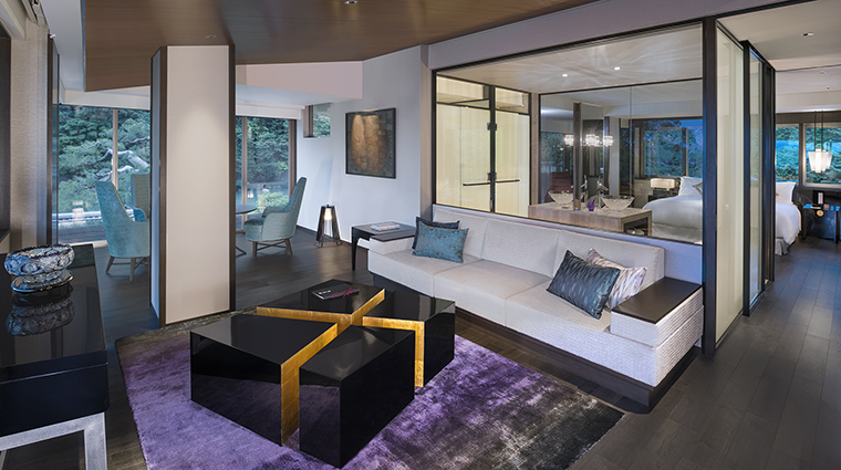 Property SuiranALuxuryCollectionHotelKyoto Hotel GuestroomSuite SuiranPresidentialCornerSuite MarriottInternationalInc