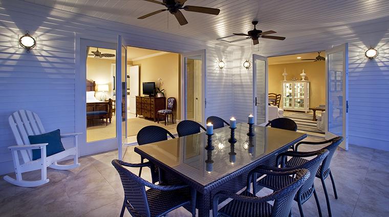 Property SunsetKeyCottages Hotel GuestroomSuite ThreeBedroomDeluxeCottagePatio StarwoodHotels&ResortsWorldwideInc