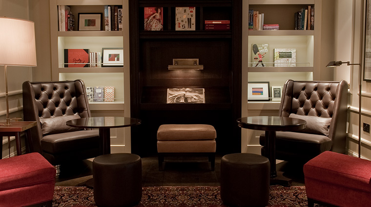 Property TheArchLondon Hotel PublicSpaces TheMartiniLibrarySeating TheArch