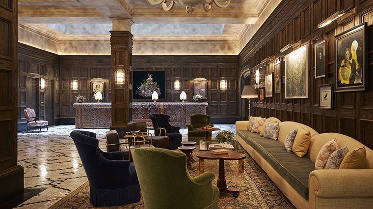 Property TheBeekman Hotel PublicSpaces Lobby ThompsonHotels