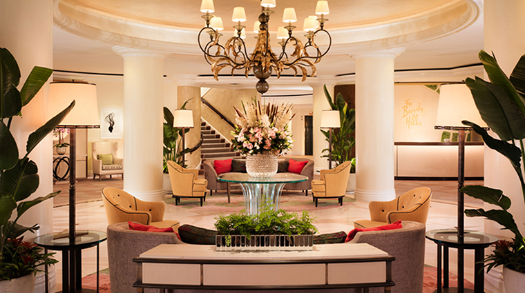 Property TheBeverlyHillsHotel Hotel PublicSpaces Lobby DorchesterCollection,