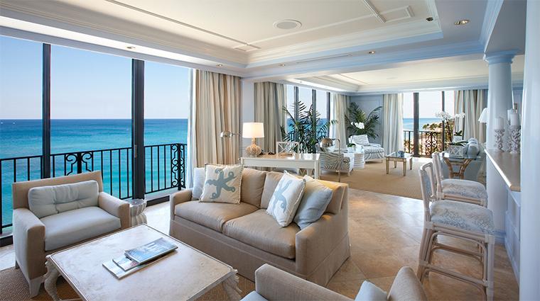 Property TheBreakersPalmBeach 6 Hotel GuestroomSuite ImperialSuite LivingRoom CreditTheBreakersPalmBeach