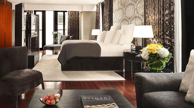 Property TheBulgariHotel&ResidencesLondon Hotel GuestroomSuite StudioSuite BulgariHotels&Resorts