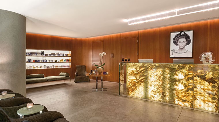 Property TheBulgariSpaLondon Spa Reception BulgariHotels&Resorts