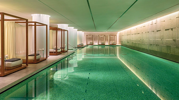 Property TheBulgariSpaLondon Spa SwimmingPool BulgariHotels&Resorts