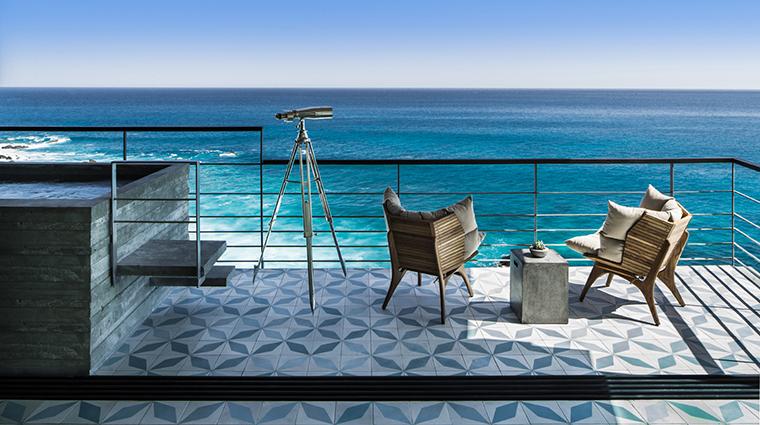 Property TheCapeAThompsonHotel Hotel GuestroomSuite PanoramicSuitePatio ThompsonHotels