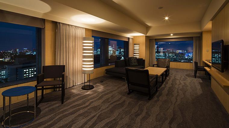 Property TheCapitolHotelTokyu Hotel GuestroomSuite ExecutiveSuiteLivingRoom TokyuHotelsCoLTD