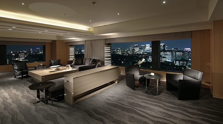 Property TheCapitolHotelTokyu Hotel GuestroomSuite TheCapitolSuiteLivingRoom TokyuHotelsCoLTD