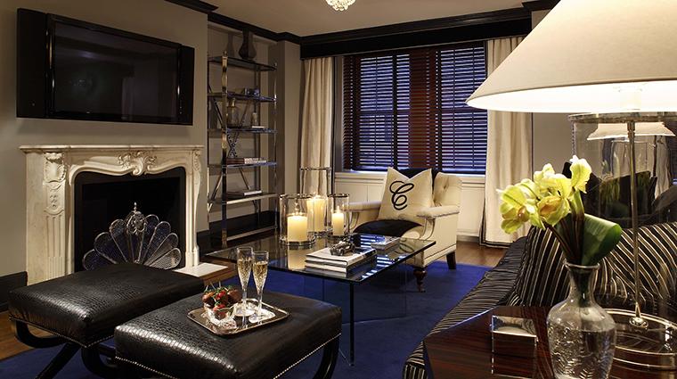 Property TheCarlyle Hotel GuestroomSuite CarlyleSuiteLivingRoom RosewoodHotels&ResortsLLC