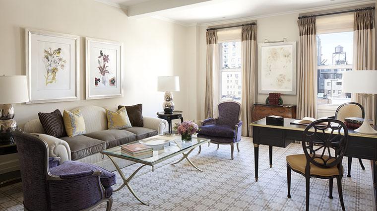 Property TheCarlyle Hotel GuestroomSuite DeluxeOneBedroomSuiteLivingRoom RosewoodHotels&ResortsLLC