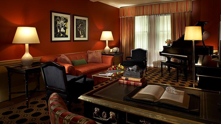 Property TheCarlyle Hotel GuestroomSuite PremierSuiteLivingRoom RosewoodHotels&ResortsLLC