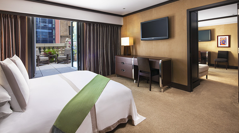 Property TheChatwal Hotel GuestroomSuite ChatwalSuiteBedroom&PrivateTerrace StarwoodHotels&ResortsWorldwideInc