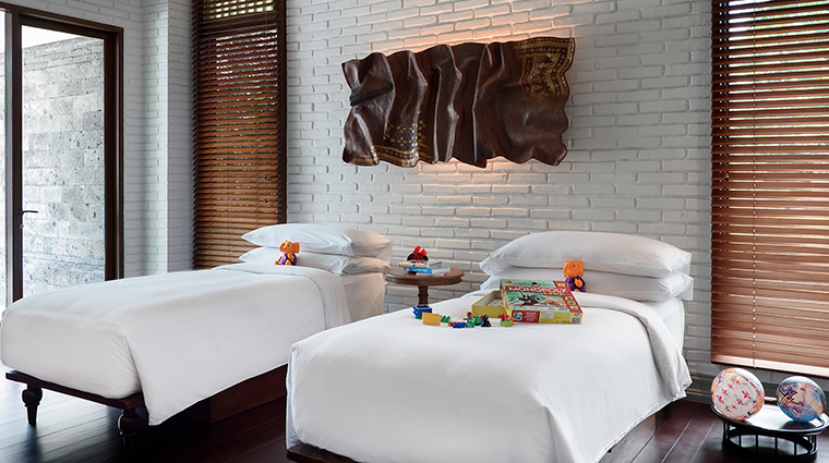 Property TheChediClubTanahGajah Hotel GuestroomSuite FamilyVillaChildrensBedroom TheChediClub