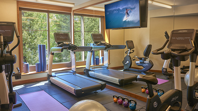 Property TheClementHotel Hotel PublicSpaces FitnessCenter TheClementHotel